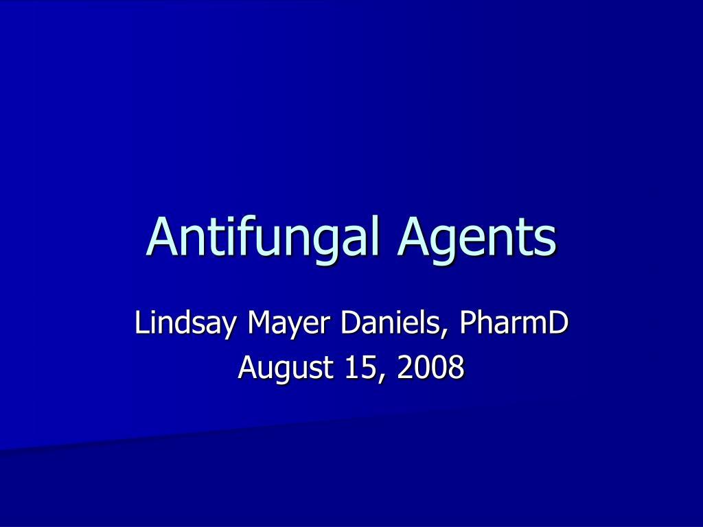 antifungal agents l.