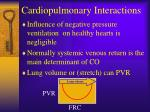 cardiopulmonary interactions50