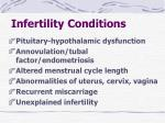 infertility conditions