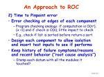an approach to roc54