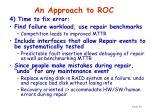 an approach to roc56