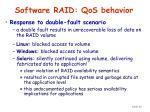 software raid qos behavior40