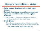 sensory perceptions vision11