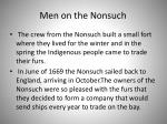 men on the nonsuch