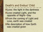 death s and erebus child