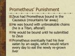 prometheus punishment