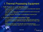 i thermal processing equipment10