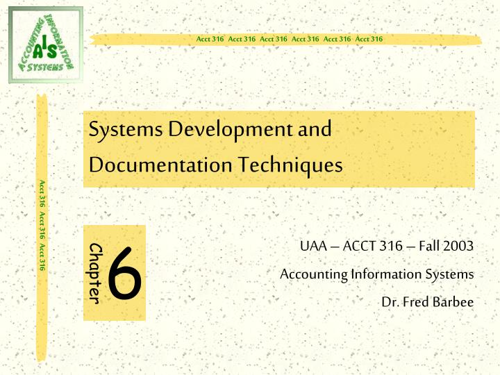 systems development and documentation techniques Systems development life cycle the following is a fairly extensive outline of the system development life cycle a search of the internet will show several variations on the sdlc with fewer or more steps to the process.