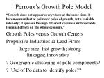 perroux s growth pole model