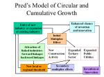 pred s model of circular and cumulative growth
