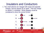 insulators and conductors20
