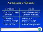 compound or mixture