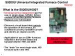 s9200u universal integrated furnace control