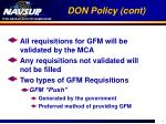don policy cont5
