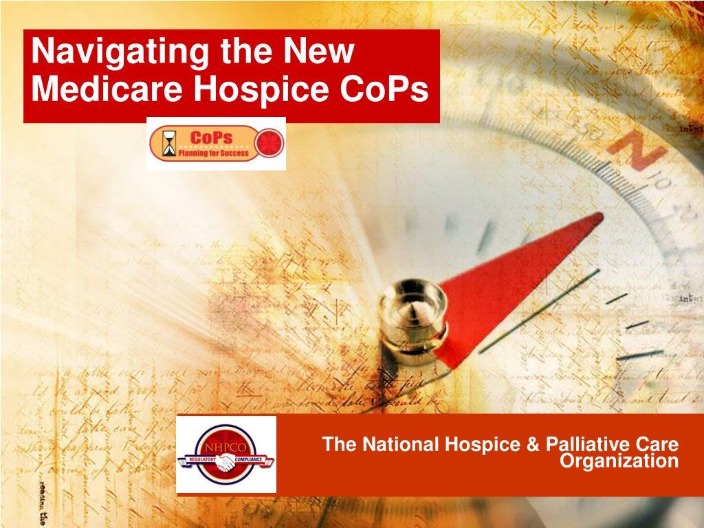 the national hospice palliative care organization l.