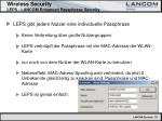 wireless security leps lancom enhanced passphrase security35