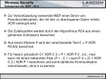wireless security schw chen von wep rc412