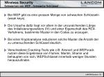 wireless security schw chen von wep schwache schl ssel