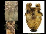 dioniso e arianna cratere in bronzo dorato dalla tomba b di derveni