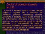 codice di procedura penale art 220