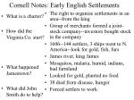 cornell notes early english settlements2
