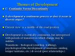 themes of development7