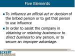 five elements8
