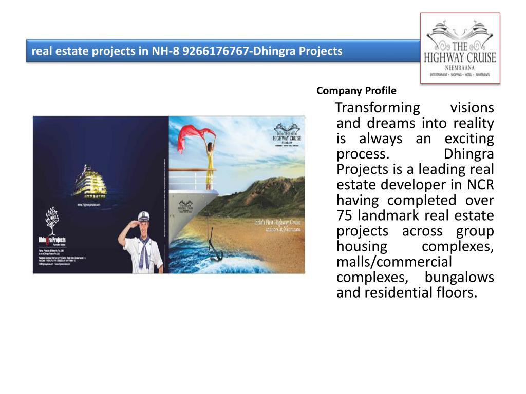 real estate projects in nh 8 9266176767 dhingra projects l.
