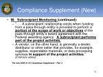 compliance supplement new10