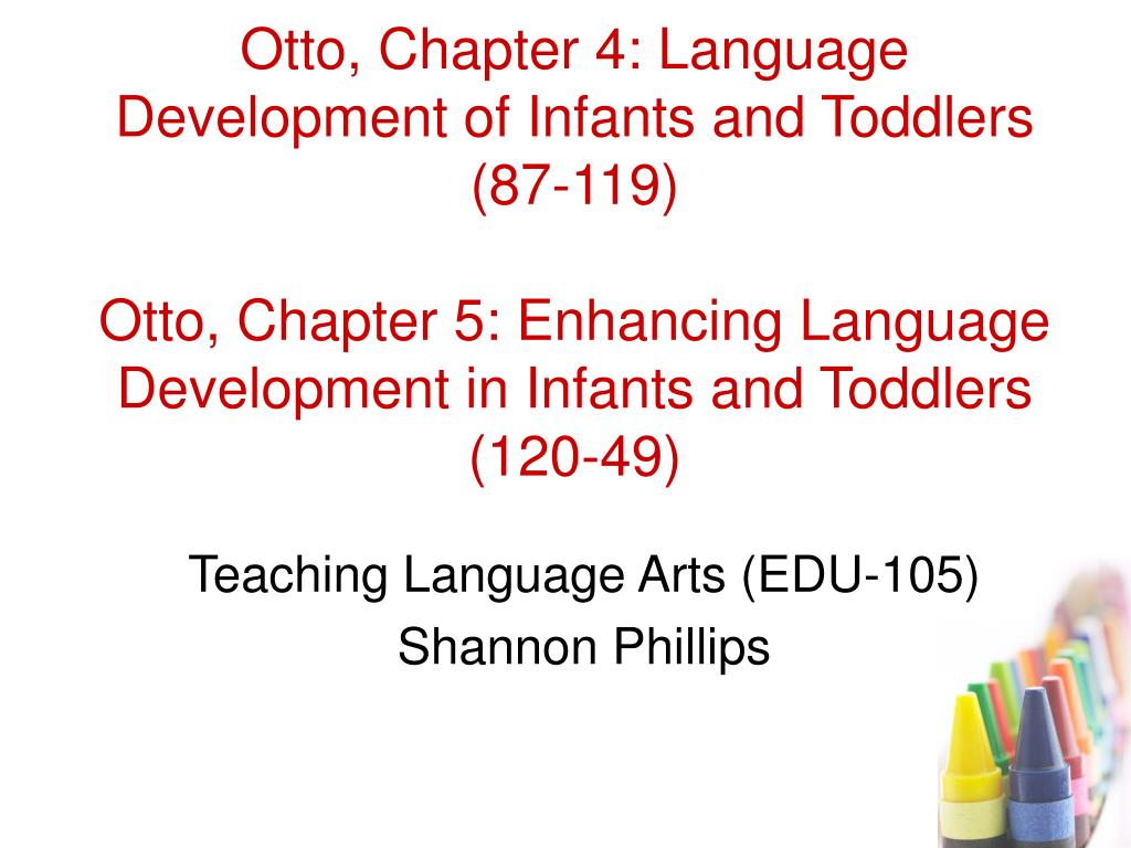 teaching language arts edu 105 shannon phillips l.