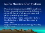 superior mesenteric artery syndrome22