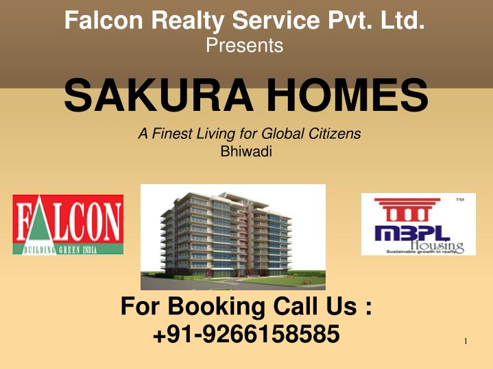 sakura homes a finest living for global citizens bhiwadi for booking call us 91 9266158585 n.