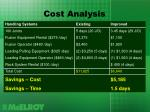 cost analysis8