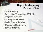 rapid prototyping process flow