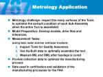 metrology application