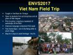 envs2017 viet nam field trip