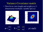 variance covariance matrix4