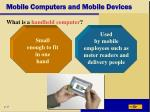 mobile computers and mobile devices35