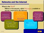networks and the internet22