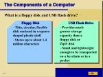 the components of a computer12