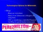 technological options for millennials34