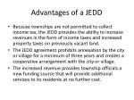 advantages of a jedd