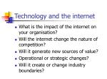 technology and the internet