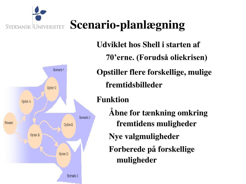 Scenario-planlægning