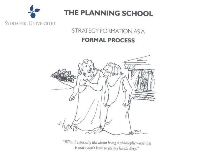 Planl gningsskolen formal procedure formal training formal analysis strategisk planl gning som uddannelse og kurser