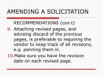 amending a solicitation45