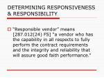 determining responsiveness responsibility99
