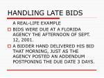 handling late bids57