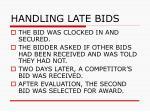 handling late bids58