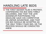 handling late bids59